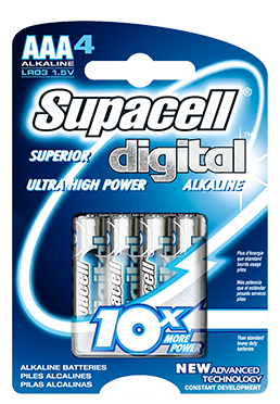 Supacell AAA Alkaline Batteries Pack