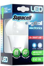 Supacell LED bulbs